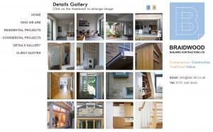 Braidwood Building Contractors Website Screenshot